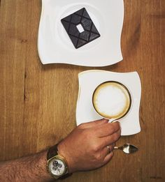 Enjoying the best #chocolate in the world made by @toakchocolate with a #cappuccino. Chose #watch on #monday is a #audemarspiguet #royaloak #tourbillon owned by @rallebriatore. #BillionaireLivings #Luxury #Goods #Perfection #Enjoylife #Perfectmatch by billionairelivings