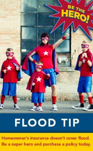 National Prep Month Tip of the Day: Flood National Preparedness Month, Flood Damage, Flood Insurance, Tip Of The Day, Protecting Your Home, Safety, Twitter, Tips