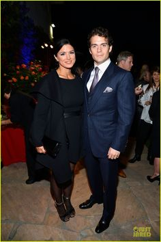 Henry Cavill & Gina Carano: Great British Film Reception