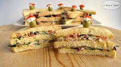 Club sandiwich vegetariani
