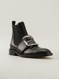 Givenchy 'tina' Chelsea buckle Boots