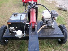 Pictures of my Homemade Log Splitter-Ideas for Hydraulic Tank? Metal Projects, Welding Projects, Woods Equipment, Firewood Processor, Trailer Diy, Box Trailer, Diy Wood Stove, Wood Mill, Log Splitter