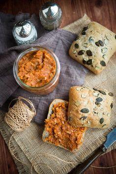 Mirabelkowy blog: Paprykarz szczeciński Matcha, Granola, Curry, Lunch, Dinner, Breakfast, Ethnic Recipes, Blog, Diet