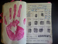 Wreck this journal.: Unique like fingerprints.