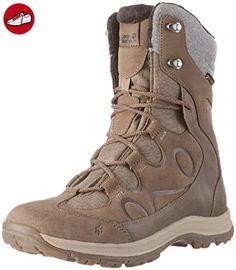 Glacier Bay Texapore High W, Chaussures de Randonnée Hautes Femme, Marron (Mocca 5200), 37 EUJack Wolfskin