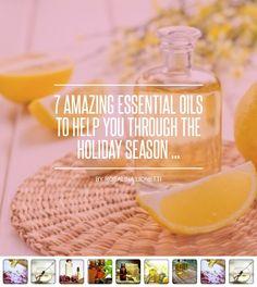 7 #Amazing Essential Oils to Help You through the Holiday Season ... - #Lifestyle