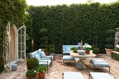 Hollywood Hills Garden - Mark D. Sikes
