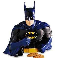 Batman Cookie Jar for the WB Studio Store.