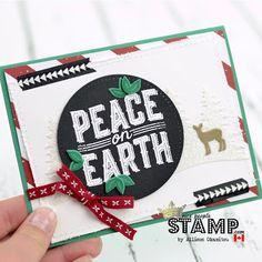 nice people STAMP!: Carols of Christmas Card: Artisan Design Team Blog Hop