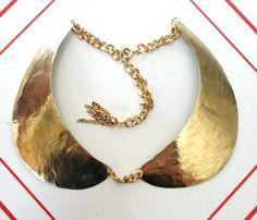 Brass Peter Pan Collar
