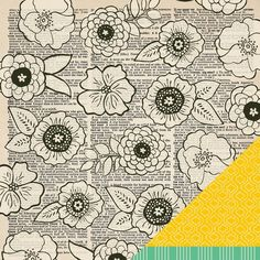 Tribeca 12X12 Soho Garden Paper  by American Crafts