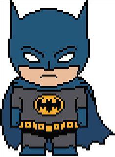 DC: Batman Chart PDF Pattern by Shylah Addante