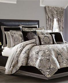 J Queen New York J. Queen 4-Pc. New York Giuliana Queen 4-Pc. Comforter Set Bedding. #beddingsets #beddingideasmaster #afflnk