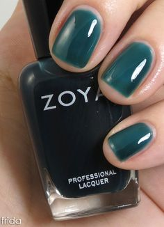 Review & Swatches: Zoya Gloss Sheer Jelly Collection for NYFW 2012 | Nail Polish News | Scoop.it