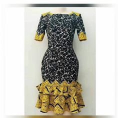 Items similar to Ankara short dresses for women's / kitenge casual dresses for women's / African print casual and party dress on Etsy African Dresses For Kids, African Maxi Dresses, Ankara Dress Styles, African Fashion Ankara, Latest African Fashion Dresses, African Print Fashion, African Attire, Africa Fashion, African Prints