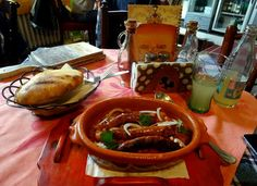 Travel and Lifestyle Diaries Blog: Lunch at Astal Saren in Novi Sad: Typical Serbian Cuisine – Baked Beans (Prebranac) with Sausage