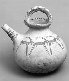 Period: Iron Age Date: ca. early 1st millennium B.C. Geography: Iran, probably from Luristan Medium: Ceramic, paint