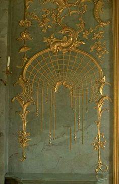 Sanssouci. Fredrick the great's Palace, Potsdam, Germany.