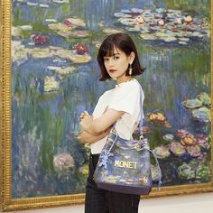 "26.6k Likes, 54 Comments - emma (@okss2121) on Instagram: ""Louis Vuitton @louisvuitton x Jeff Koons @jeffkoons MASTERS collection ❤️ 『 MONET 』 ....…"""