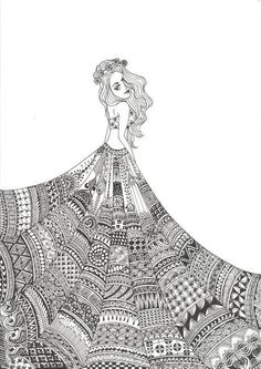 Hand Drawn Zentangle Doodle Drawings - Black and white pineapple doodle zentangle art - Easy Doodle Art, Doodle Art Designs, Doodle Art Drawing, Designs To Draw, Zentangle Drawings, Cool Doodles, Drawing Drawing, Doodles Zentangles, Drawing Ideas