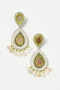 Sequin-Colada Drop Earrings