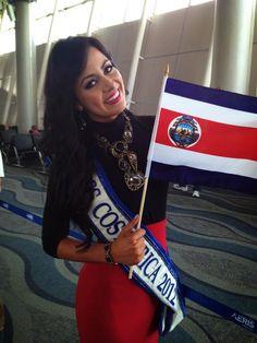 Nazareth Cascante Madrigal - Miss Costa Rica 2012