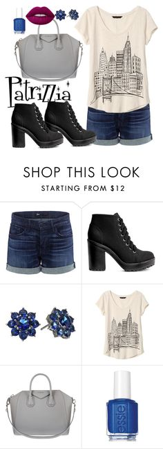 Patrizzia26.09.2016g by patrizzia on Polyvore featuring moda, Banana Republic, 3x1, H&M, Givenchy, Nina, Lime Crime and Essie