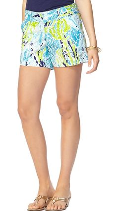 Lilly Pulitzer Callahan Short in Let's Cha Cha