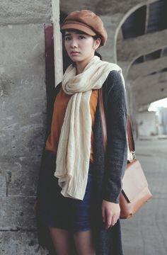 scarfed