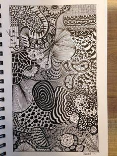Random doodle challenge