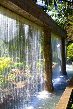 Water Wall,Minter Gardens, Chilliwack, BC