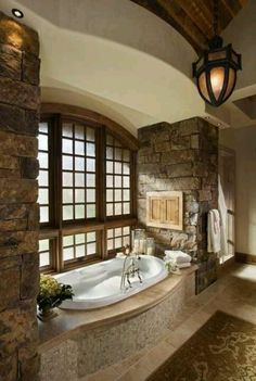 Relaxing beautiful bathroom I must have !!