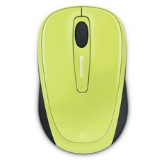 Microsoft Wireless Mobile Mouse 3500 USB Citron Green