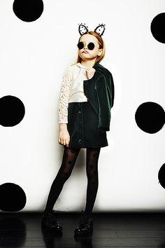 My Little Dress Up ✭ AW14 BIANCA jacket | LILY blouse | JACKIE skirt | KITTY headband