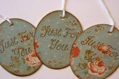 Image result for handmade gift tags