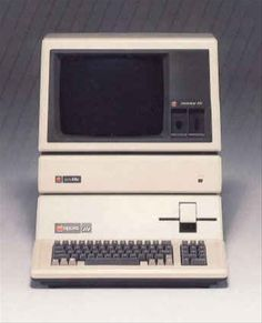 Retro computer 'collage' idea - Apple 3 computer, 1980 - doesn't seem that long ago, does it?  Or, does it?!