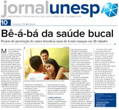 Bê-á-bá da saúde bucal - Projeto Fortalecimento da Atenção Básica à Saúde Bucal na Primeira Infância.
