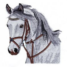 Super Embroidery Designs By Hand Sketch Ideas New Embroidery Designs, Embroidery Software, Machine Embroidery Applique, Free Machine Embroidery Designs, Applique Quilts, Embroidery Art, Horse Quilt, Horse Head, Horses