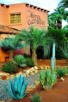 Spend some time at the Hotel California. Yes, it's the same one that inspired The Eagles in 1976.