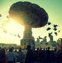 feel the summer air