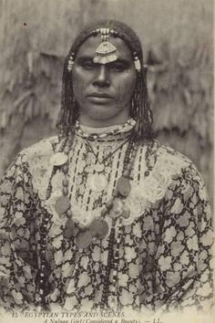 North Africa Algeria Berber woman Mauresque du Sud