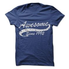 Awesome since 1992 T Shirt, Hoodie, Sweatshirt