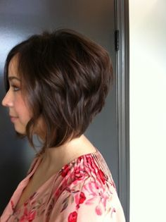 Short and Chic. Hair style by Neil George Salon stylist Alessandra Saman.