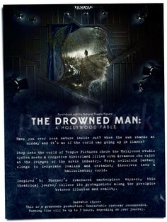 """Punchdrunk's """"The Drowned Man: A Hollywood Fable"""""""