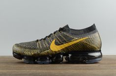 2017 NIKE AIR VAPORMAX FLYKNIT 849558-009 Dark Yellow are available contact  us: shoppingheavenonline