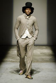 """Geoffrey B. Small's Autumn/Winter 2006 collection """"An Ode to Toussaint Louverture."""" [x]"""