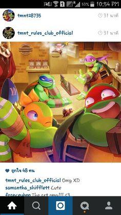credit to tmnt_rules_club_official (Aw, poor Raph. Tmnt Turtles, Teenage Mutant Ninja Turtles, Cartoon Junkie, Leonardo Tmnt, Tmnt 2012, Teenager, My Hero Academia Manga, Art For Kids, Fandoms