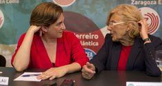 Elecciones 24-M: Así se impusieron en las urnas Manuela Carmena y Ada Colau | España | EL PAÍS. Nuevas formas de entender la comunicación política. Un storytelling con miles de voces conectadas a través de las redes sociales.