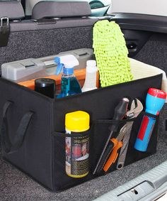 Another great find on #zulily! Foldable Trunk Organizer #zulilyfinds
