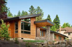 Plan 69402AM: Single Story Contemporary House Plan